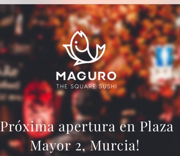 Maguro, The Square Sushi. En la Plaza Mayor (Murcia)